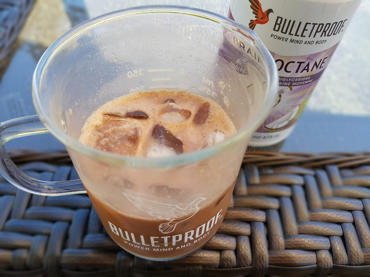 Iced Cocoa Bulletproof Coffee